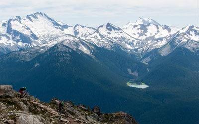 Mountain biking Whistler Valley Canada