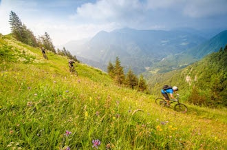Mountain biking in Slovenia, Austria + Italy