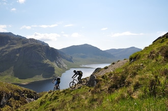 Coast-to-coast Scotland mtb adventure
