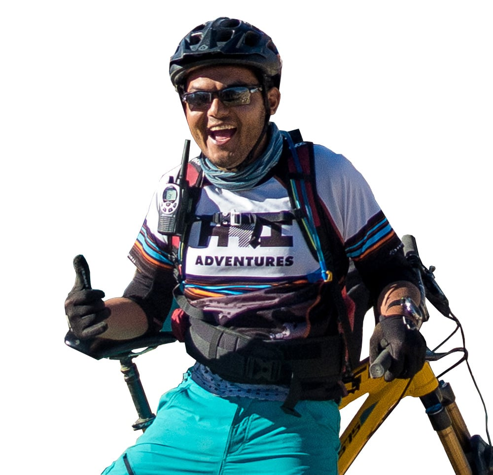 Meet Mandil your mountain bike guide in Nepal