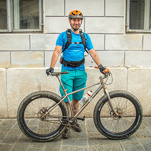 Mountain Bike Guide, Danijel. Your guide on your Slovenia mountain bike holiday
