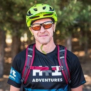 Mountain bike guide Spain portrait