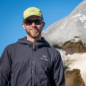 Mountain bike guide New Zealand Liam Stroud