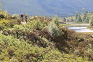 Mountain biking adventure Torridon, Scotland