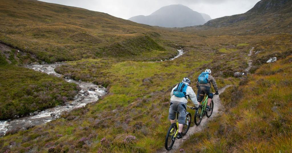 Mountain biking coast-to-coast across Scotland, what to wear on your mountain biking tour in Scotland