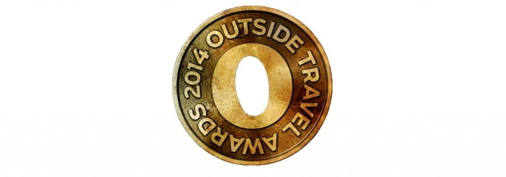 Outside Travel Awards 2014 Scotland voted best biking