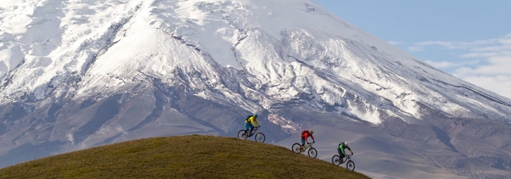 Mountain biking adventure in the Andes of Ecuador, following our mountain biking guide to Ecuador