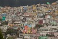 Colourful homes in Ecuador