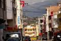 City streets of Ecuador