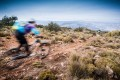 Rocky singletrack in the high plateaux of Spain on our mountain bike trip