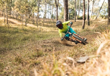 mountain bike tour Nepal - our guide RJ