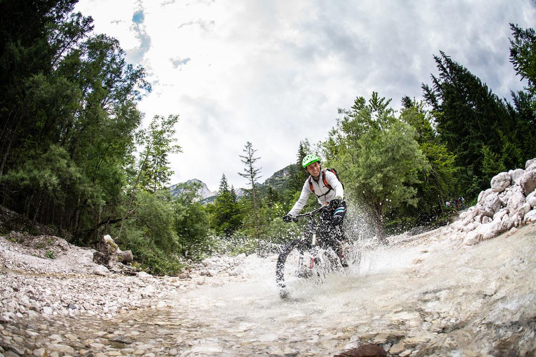 Mountain bike tour Slovenia our MTB guide Blaž