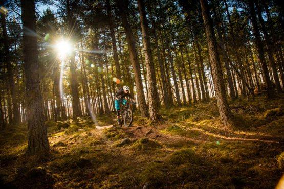 mountain biking + whisky adventure in Scotland on our mountain bike tour Scotland