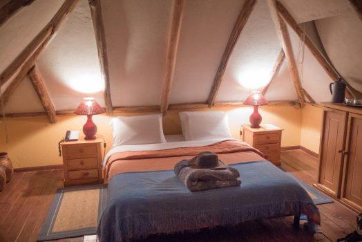 Fantastic accommodation on the H+I Adventures mountain bike tour in Ecuador