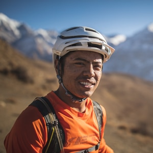 mountain bike tour guides - RJ Nepal