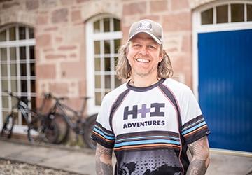Jono Baldwin your Scottish H+I Adventures Guide