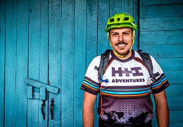 José H+I Adventures mountain bike guide in Ecuador