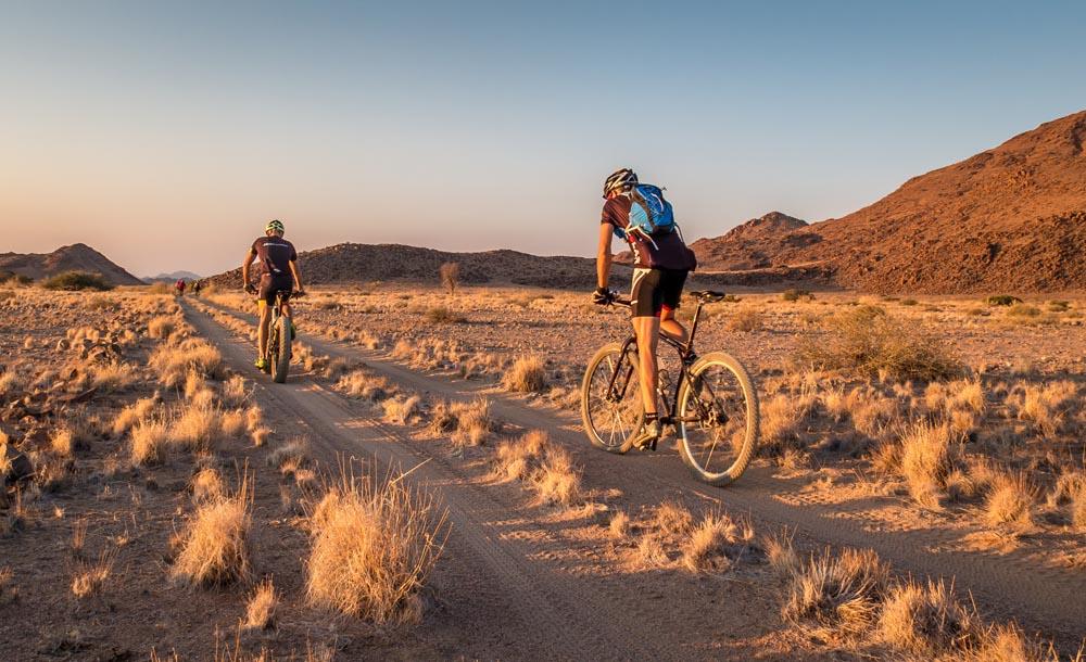 mountain bike safari tour namibia africa h i adventures