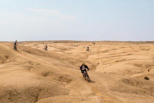 Mountain biking safari in Namibia