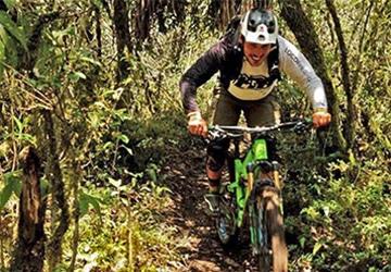 Jose Jilon our mountain bike guide in Ecuador