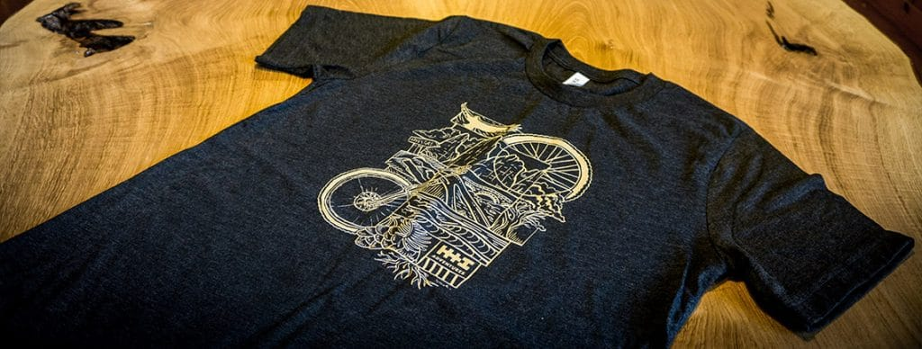 H+I Adventures new off the bike t-shirt, H+I Adventures T-shirts