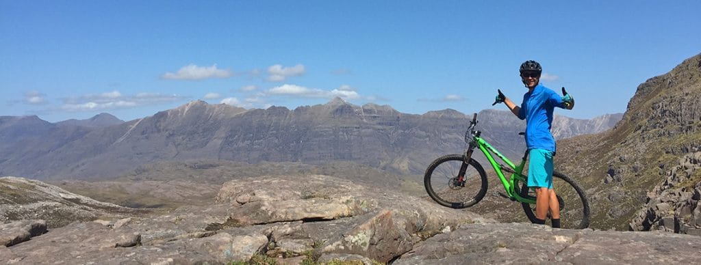 International mountain bike guides in Scotland