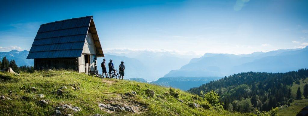 Slovenia mountain biking video