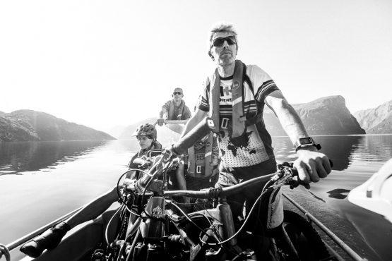 mountain bike tour Norway, guide Ole