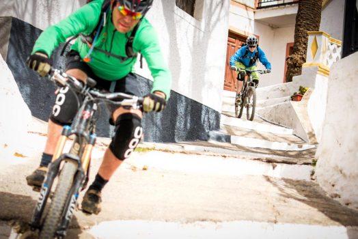 Mountain biking through Andalucían villages