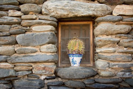 Traditional home decorations on display in Andalucía on our mountain bike tour Spain