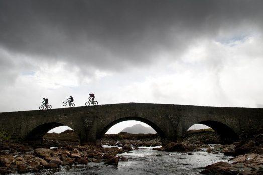 Mountain biking Torridon and Skye