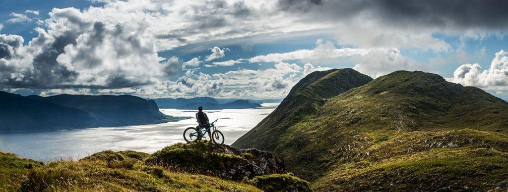 Mountain biking Norway, fjords | H+I Adventures Blog