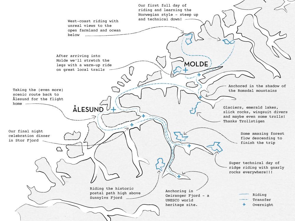 Fjords Of Norway Mountain Bike Tour