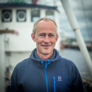 Sven Stewart, your skipper in Norway