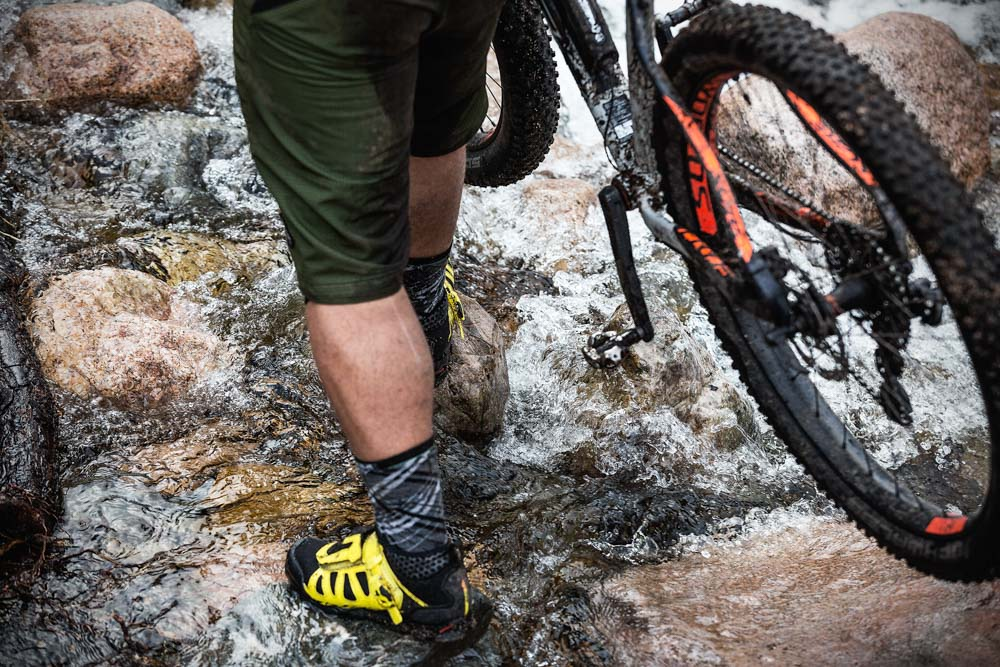 Mountain bike tour Cairngorms Scotland