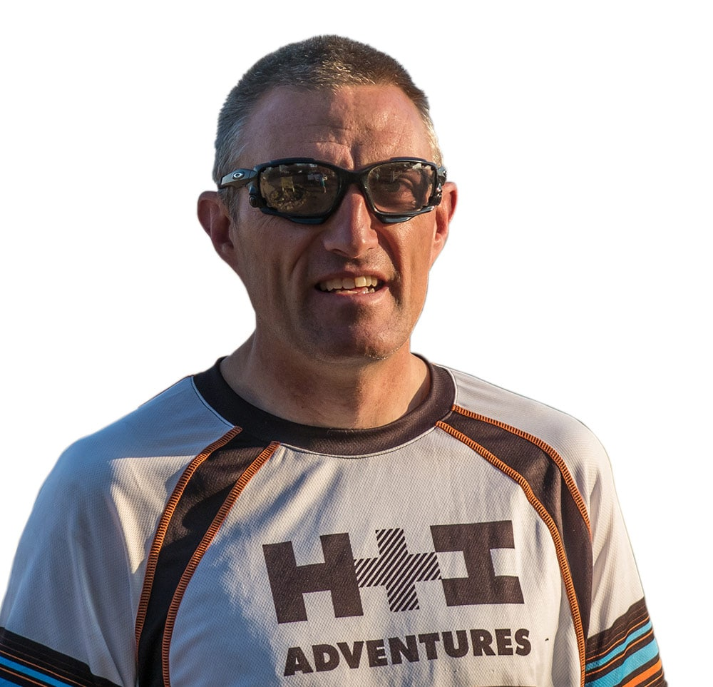 Siegmund Mengerssen, your local mountain bike guide in Namibia