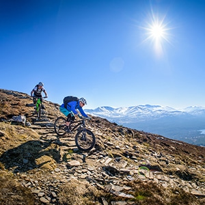 Cairngorms - mountain bike tours worldwide