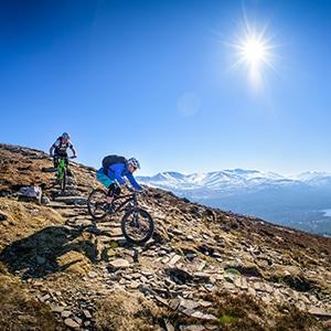 Mountain Bike Tour Yukon Northern Canada H I Adventures