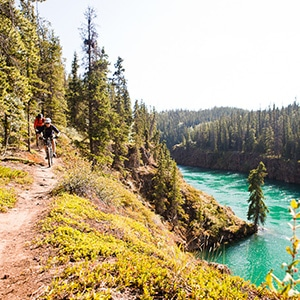 Yukon - mountain bike tours worldwide