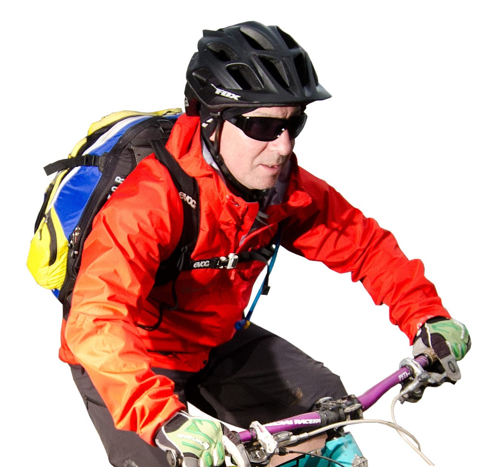 Meet Kevin, your mountain bike tour guide in Scotland