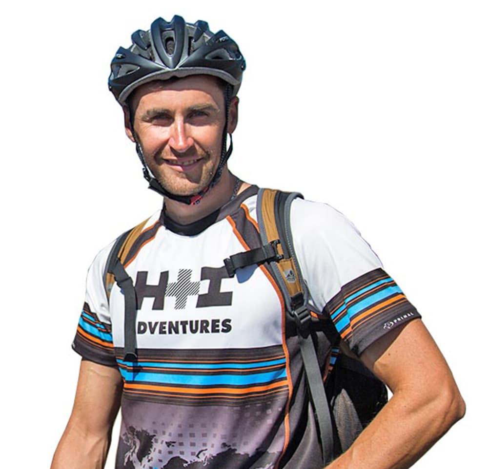 Ernesto Araneda mountain bike guide in Chile