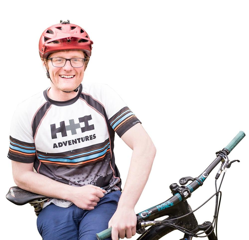 Meet Mark your mountain bike tour guide in Scotland