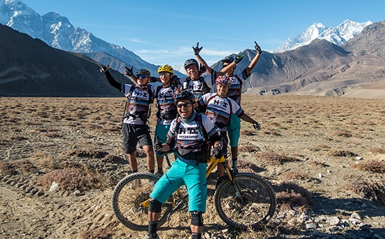 Find out about our fantastic mountain bike tour guide team