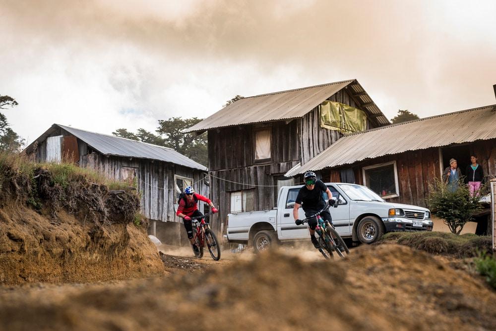 3662953c0 Our Mountain bike tour Chile passes through small villages