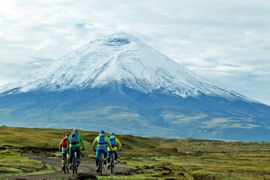 Our mountain bike tour in Ecuador presents mammoth high altitude challenges