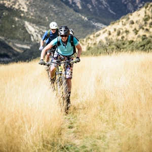 Female mountain biker New Zealand, calendar of adventures
