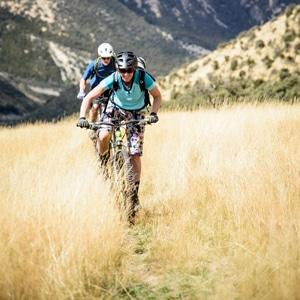 Female mountain biker New Zealand, calendar of adventures