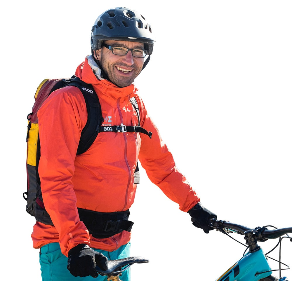 Meet Danijel your mountain bike guide in Slovenia and Croatia