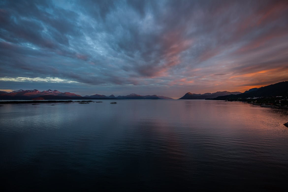 Norway rider reviews of these amazing sunsets