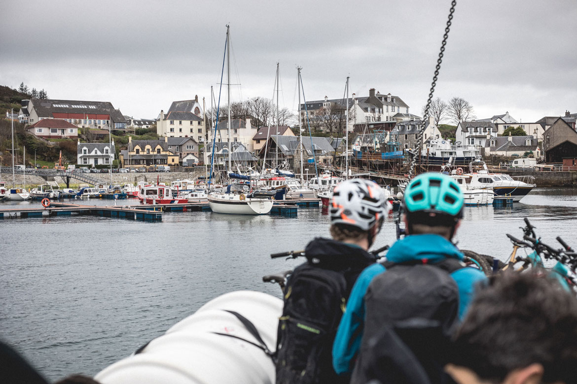by bike and boat - the end of the journey